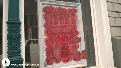 L�tterkusen: Die Rosen. - Marianna Monastirsky - Im Schaufenster vom L�ttringhauser