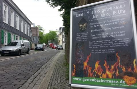 Gertenbachstra�e: Am 11.6. findet der erste Restaurant-Day auf der Gertenbachstra�e statt.